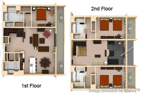 kidani floor plan disney animal kingdom villas kidani vacation