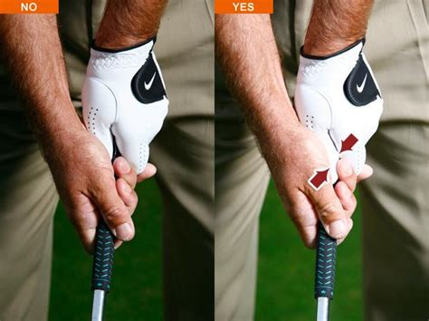 baseball grip golf swing how to check for a perfect grip golf com