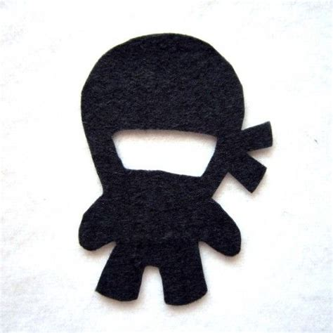 felt ninja pattern ninja iron on patch all things ninja pinterest