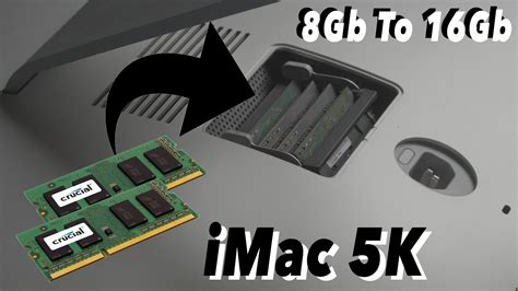 Imac 5k Mf886 Upgrade imac 27 quot 5k late 2015 upgrade 8gb to 16gb ram in 4k how to upgrade ram of a imac 5k 2017