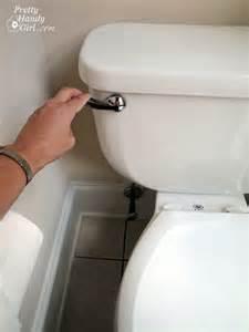toilette flush toilet repairs part 1 replacing the lever