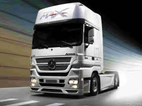 Mercedes Lorry Mercedes Actros Study Space Max 15894 Wallpaper