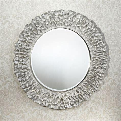 Deknudt Mirrors Decora 2724.262 Flora Silver Mirror