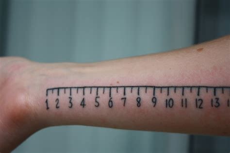 ruler tattoo ruler best design ideas