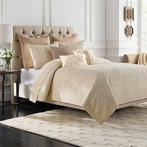 sonoma bedding bridge street sonoma quilt in ivory bed bath beyond