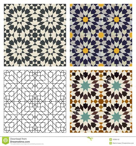 Kitchen Tile Design Patterns moroccan tiles stock photography image 18396142