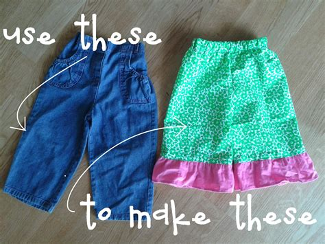 pattern toddler jeans fast easy stinkin cute ruffle pants free photo
