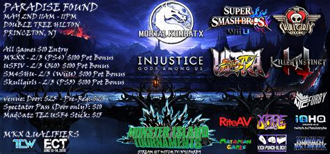 Fighter V Ps4 Reg 3 may 2 2015 paradise found mkx sm4sh usf4 igau