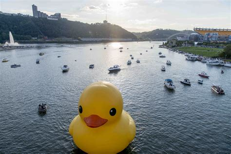 Rubber Duck Pittsburgh Location by Must See The Duck Stops Here The 412 September 2013