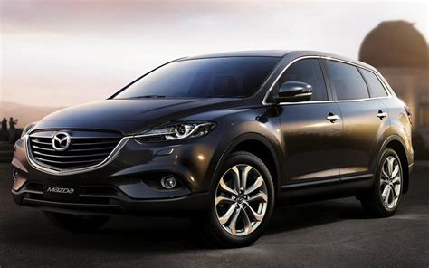 2013 Mazda CX 9 Front 7/8 Preview   egmCarTech