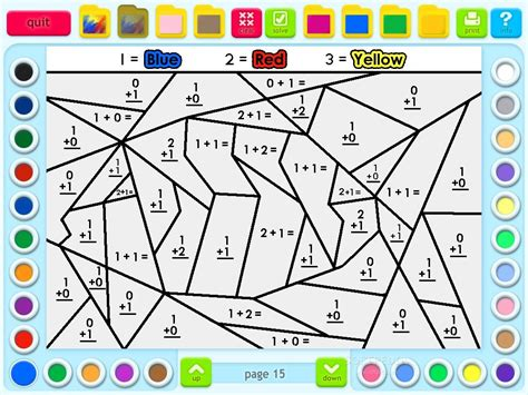 Coloring Book 1 coloring pages math coloring book grade 1 math coloring
