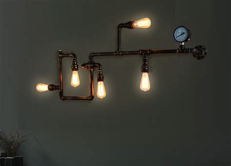 Industrial Lighting Fixtures For Home ヾ ノfree Shipping Edison Wall L ᗛ Ancient Ancient Water Pipe Sconce ᐂ American American