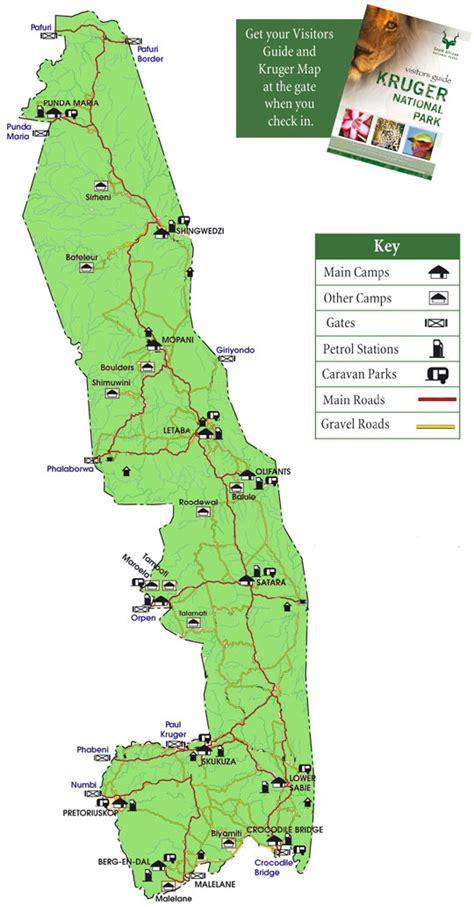 kruger national park map kruger national park south africa safari accommodation