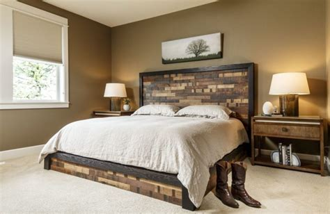 Master Bedroom Headboards by 20 Beautiful Master Bedrooms With Wooden Headboards
