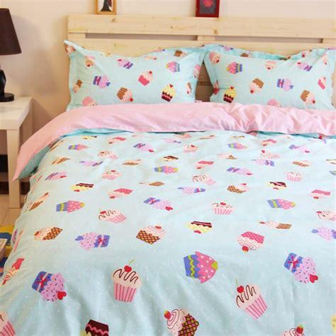Summer Cupcake Duvet Cover Set Cupcake Bedding Set