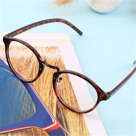 retro vintage large frame fashion clear