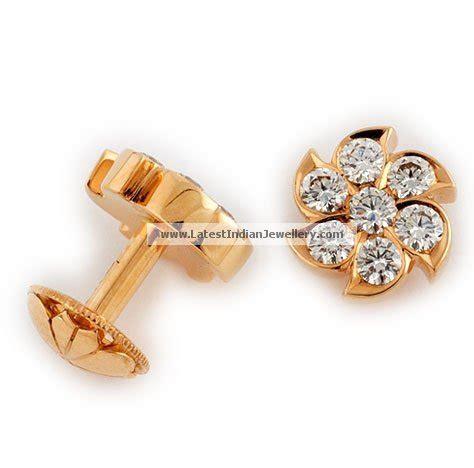 simple earrings  everyday latest indian jewellery designs