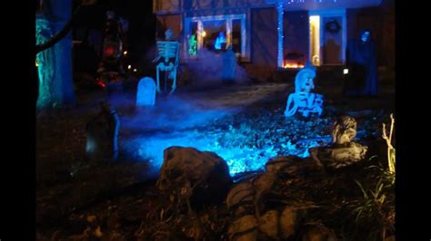 backyard haunted house 2011 zombie hollow haunted house yard haunt youtube