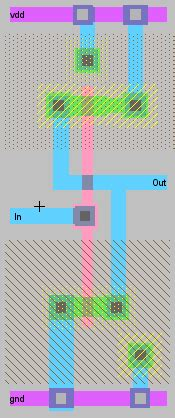 layout design in vlsi wiki ee307 cmos buffer design layout project
