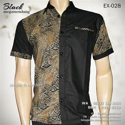 Jual Baju Lengan Pendek Casual Pria Black Top Middle Purple Mix Line 552 best baju batik images on