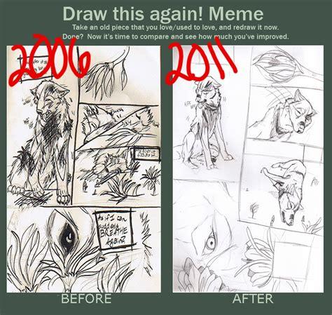 Draw It Again Meme - draw it again meme by therootofallevil on deviantart