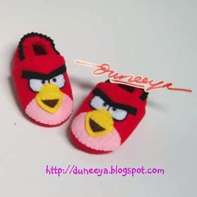 Pre Walker Kartun craft souvenir educative toys prewalker felt baby shoes sepatu bayi kartun