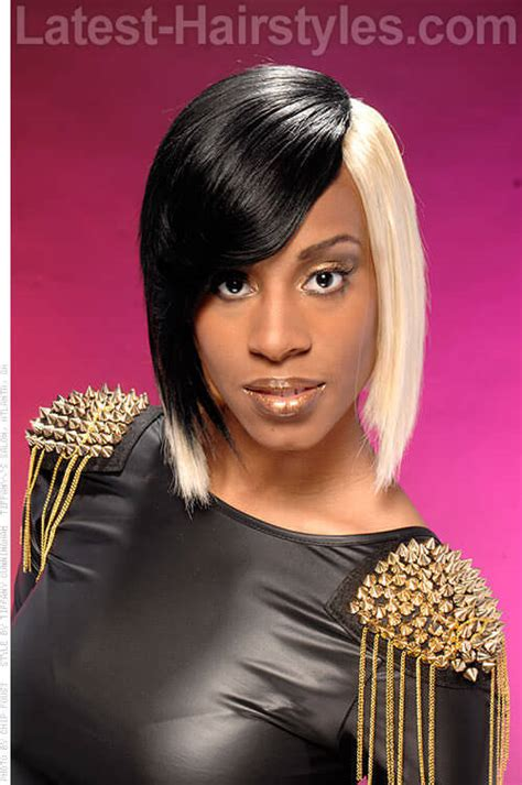two toned bangs hairstyles for african american how to weave hair the right way to achieve your look