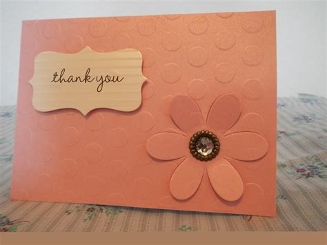 Handmade Thank You Card Designs - made cards handmade thank you cards