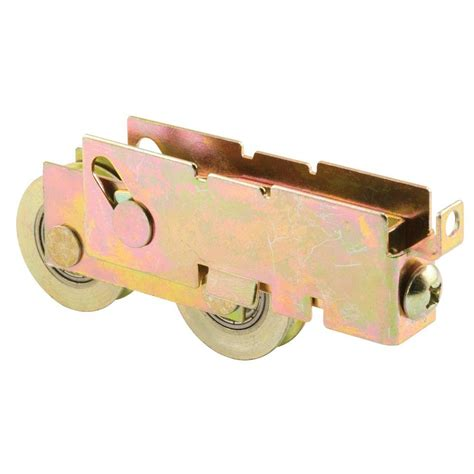 Patio Door Roller Assembly Prime Line 1 1 4 In Steel Bearing Sliding Door Tandem Roller Assembly D 1845 The Home Depot