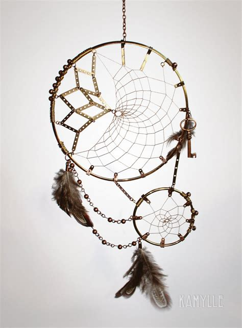 steampunk dreamcatcher by kamylle on deviantart