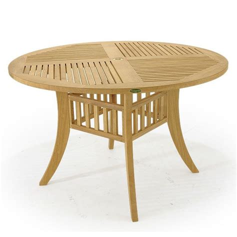 barbuda teak folding 4 foot diameter round table modern 17 best images about dining tables on pinterest