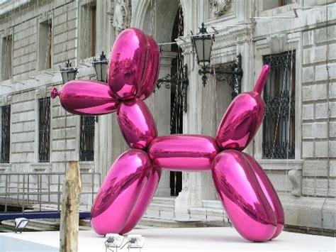 Intro kunst analyse Jeff Koons Balloon Sculpture