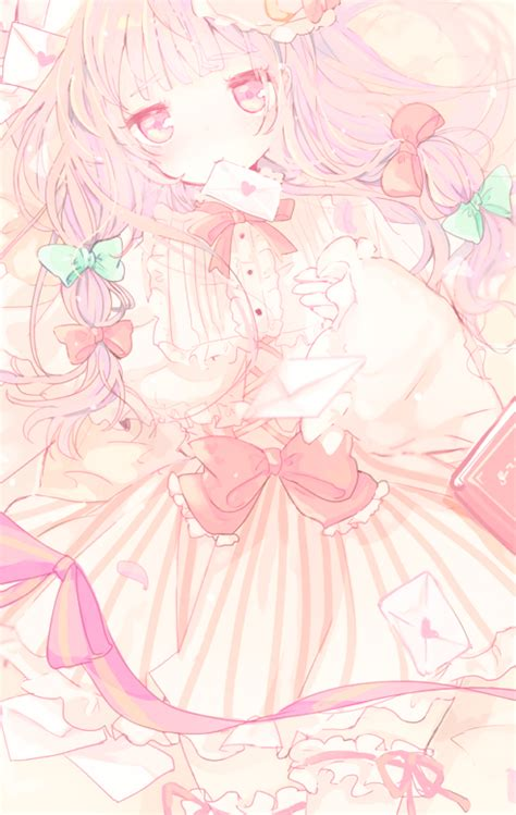 Kawaii Anime In A Floral Dress Iphone All Hp anime kawaii kawaii anime touhou image