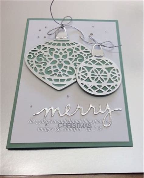 up ornaments 1023 best images about cards stin up on
