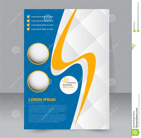 editable templates for flyers flyer template business brochure editable a4 poster