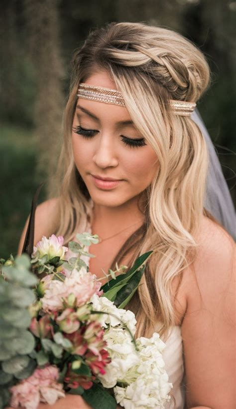 Diy Wedding Hair With Veil by Best 25 Headband Veil Ideas On Diy