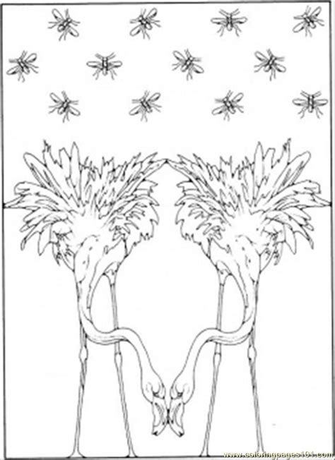 surrealism coloring page  painting coloring pages