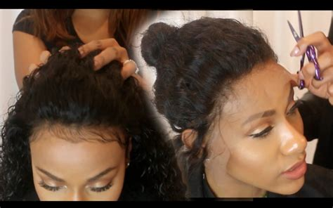 who does sew ins in omaha nebraska sew in your lace front no glue youtube