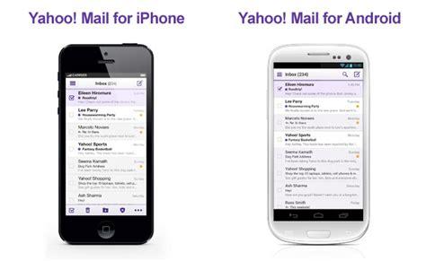 mobile mail update yahoo mail versi mobile mengalami perombakan besar