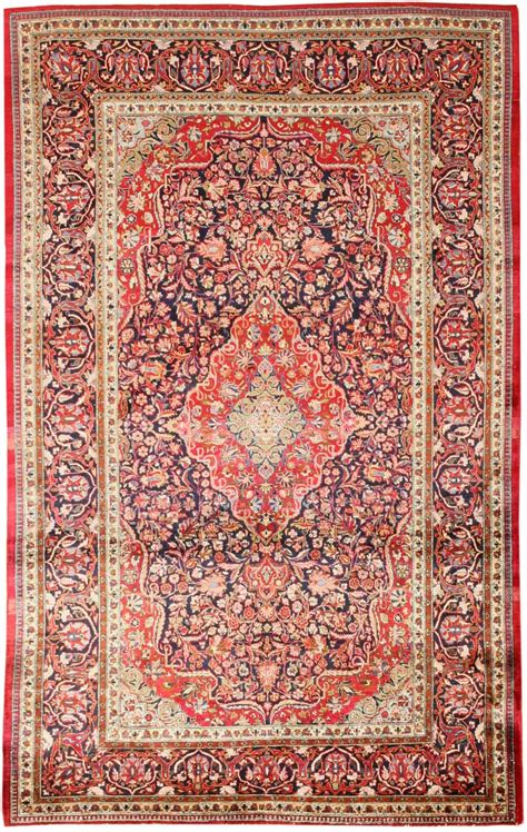 Antique Silk Kashan Persian Rug 43312 For Sale Antiques Silk Rugs For Sale
