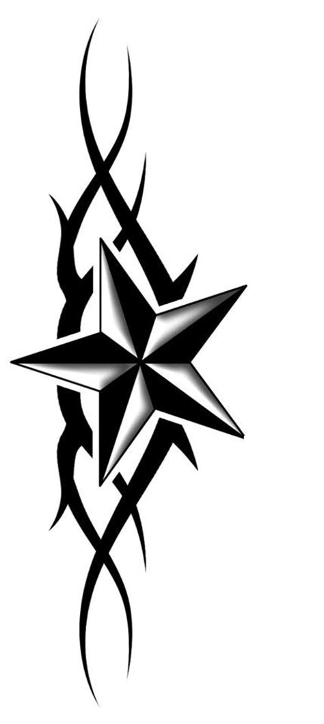 nautical star tattoo design cool tattoos amp piercings