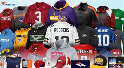 sports fan gear 20 worth of sports merchandise from fanatics for only 10