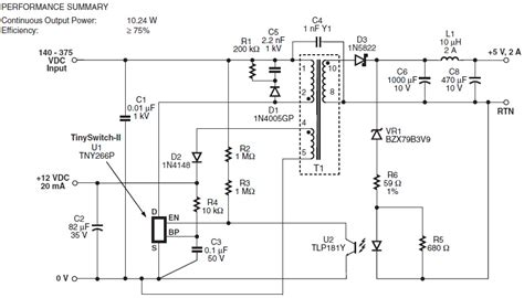 zener diode pin diagram power supply how does r5 bias the zener in this smps