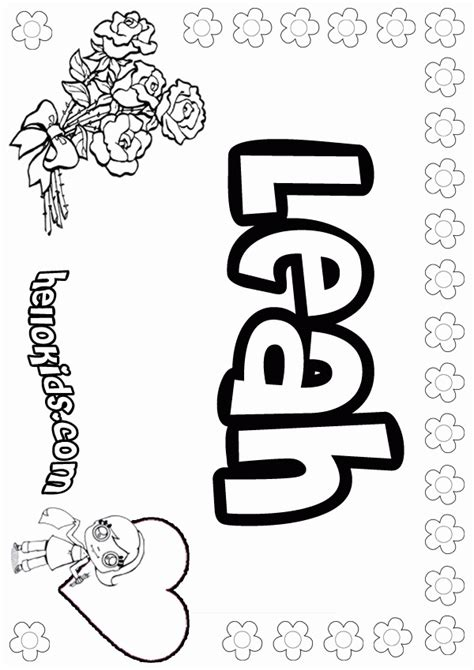 coloring pages of my name coloring home