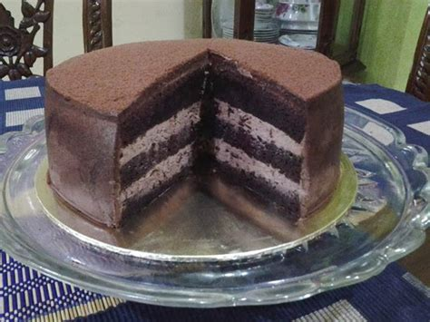 masam manis absolute chocolate cake kek kukus buah buahan absolute chocolate cake