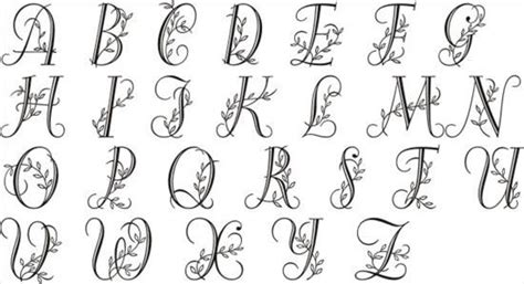 tattoo fonts vines fonts alphabet letters and graffiti on pinterest