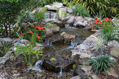 pond waterfall contractor builder deland daytona orlando