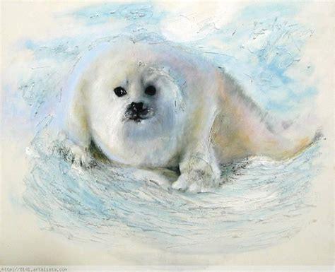 imagenes de focas blancas foca blanca dunia ruth le 243 n p 233 rez artelista com en
