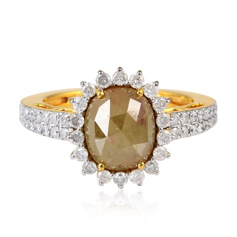 Gold Handmade Jewelry - 2 86ct ring solid yellow gold handmade jewelry