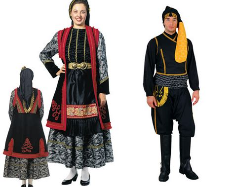 Traditional Costume faq do they all wear black aristotle tourist guide